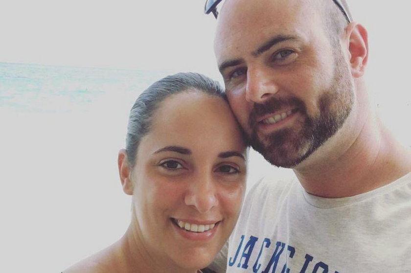 Chris Gillan z żoną