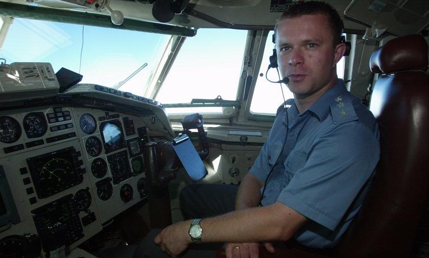 Arkadiusz Protasiuk, pilot prezydenckiego Tu-154, który rozbił sięw Smoleńsku