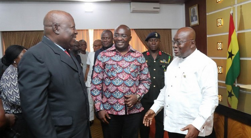 Read Akufo-Addo's full response to Martin Amidu's allegations of interference