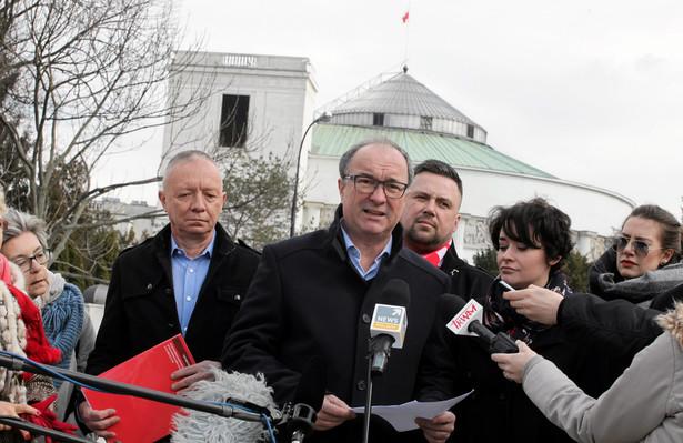 Czarzasty: Nie umarliśmyy, mamy się coraz lepiej i wracamy do Sejmu