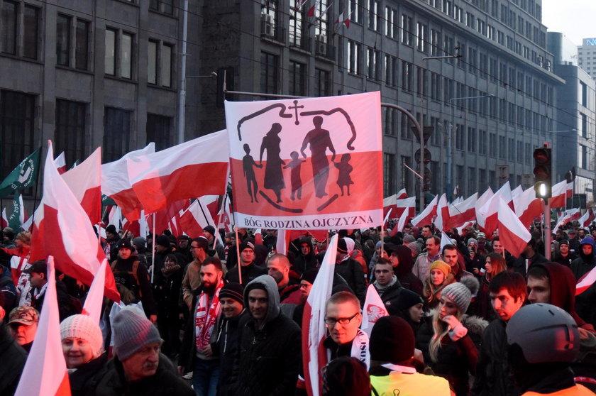 Tusk podsumował Marsz Niepodległości. W dwóch słowach