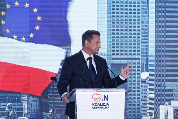 Liderka Inicjatywy Polska mówiła na konferencji prasowej, że jest to dla niej początek kampanii wspierającej Rafała Trzaskowskiego.
