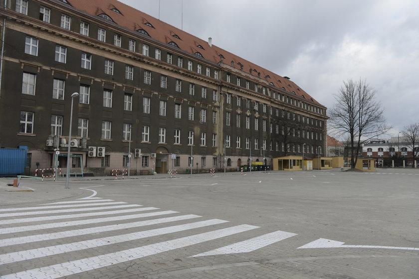 Tymczasowy dworzec PKS we Wrocławiu