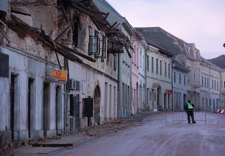 Zemljotres Hrvatska nove fotografije