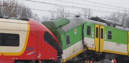 Kraksa na torach pod Warszawą! Zmiażdżone pociągi