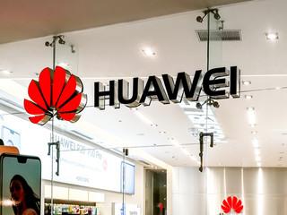 Zabawa w ciepło-zimno z Huaweiem w USA