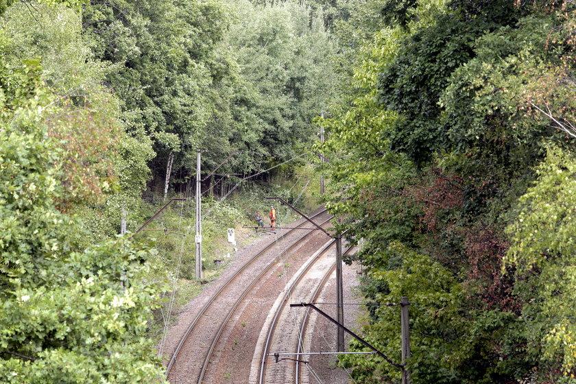65. kilometr trasy kolejowej Wrocław-Wałbrzych