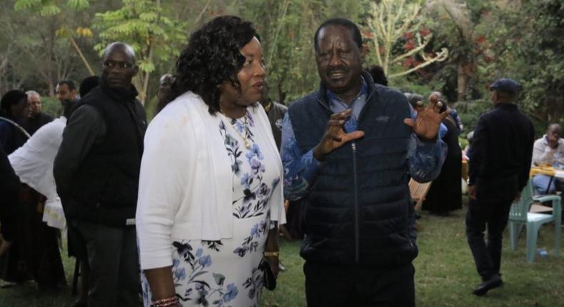 Kenyans react to Raila's birthday message to wife Ida Odinga