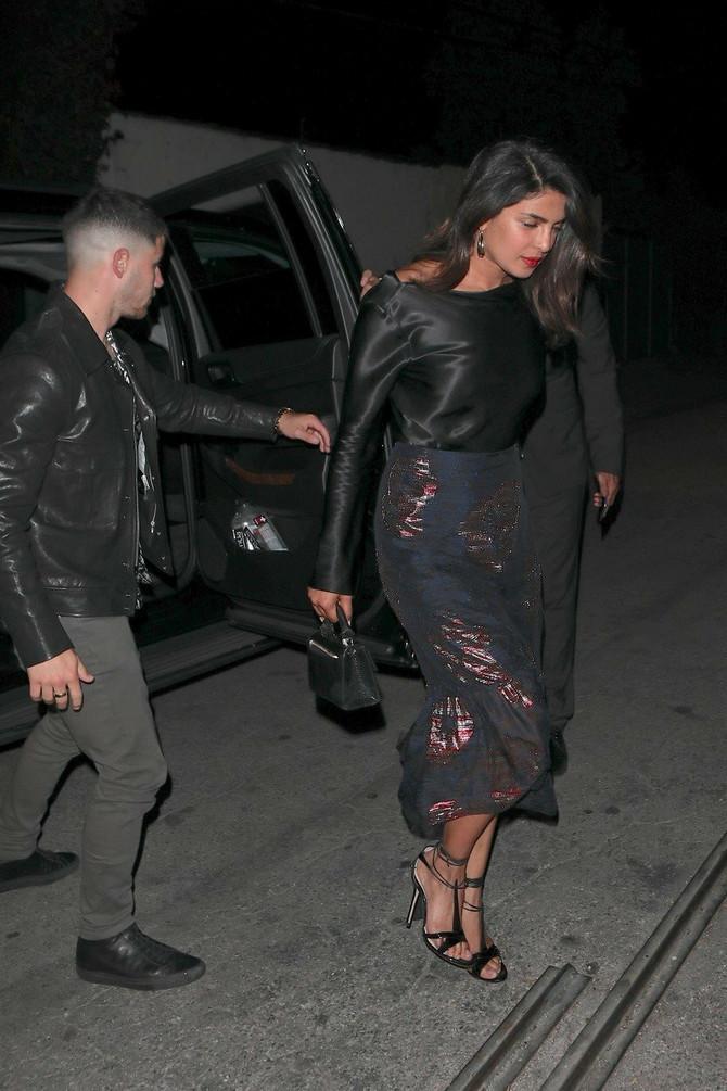 Pre nekoliko dana par je fotografisan prilikom odlaska na večeru