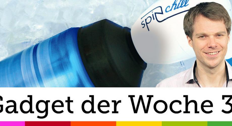 Gadget der Woche 31: SpinChill – superschneller Bierkühler