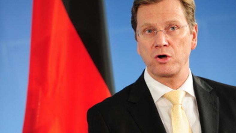Guido Westerwelle, fot. AFP