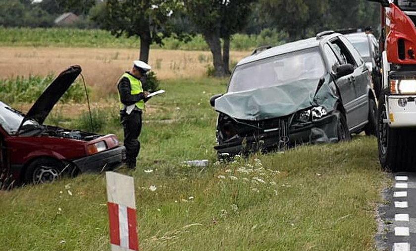 Wypadek w Horodyszcze