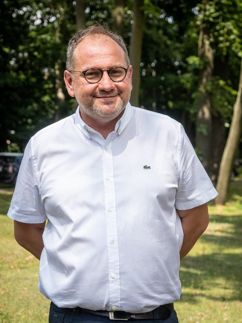 Dr Sławomir Cisiecki, ordynator okulistyki w Jonscherze