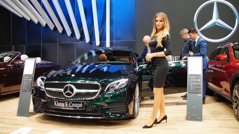Mercedes-Benz na Poznań Motor Show 2017