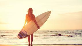 Piękna surferka pokazała zdjęcie w seksownej bieliźnie