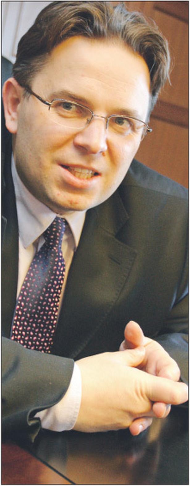 Marcin Wojewódka, radca prawny z Wojewódka i Wspólnicy Kancelaria Prawa Pracy Fot. Wojciech Górski