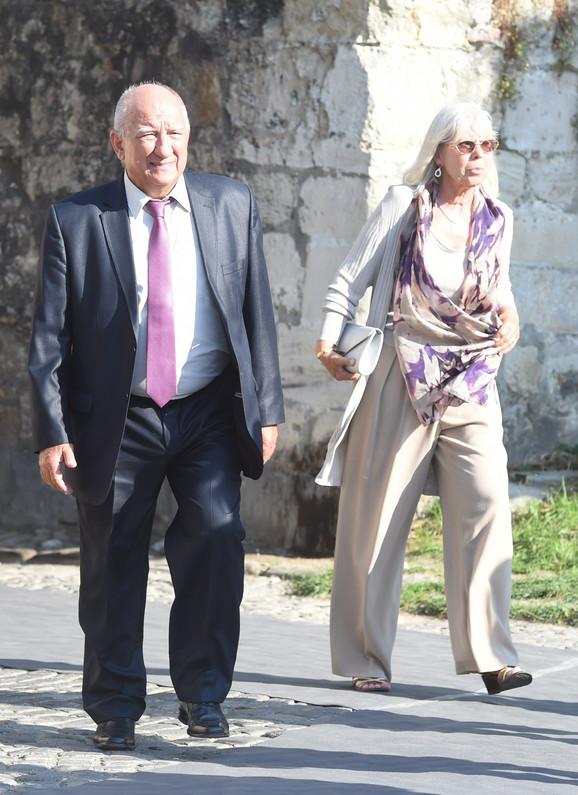 Ivan Bekjarev sa suprugom Mikicom