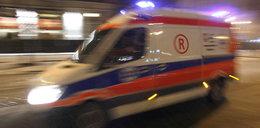 Kierowca zahaczył o karetkę. Zginęły trzy osoby