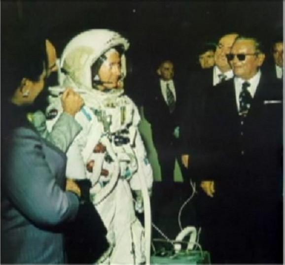 Nil Armstrong i Josip Broz Tito