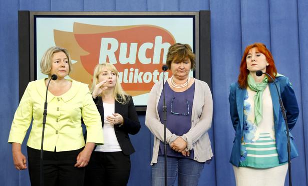 Konferencja prasowa Ruchu Kobiet