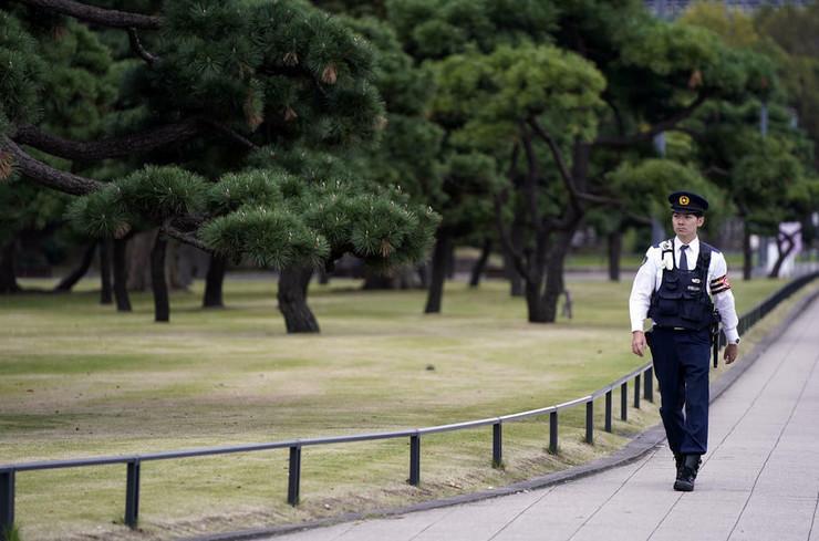 Tokio policija epa FRANCK ROBICHON
