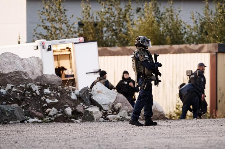 Finska ranjeni policajci