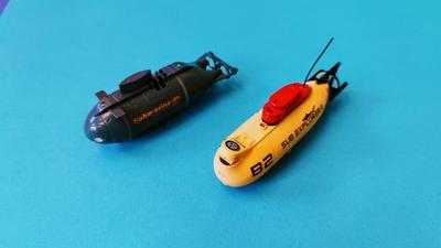 RC-Spaß zum Abtauchen: Ferngesteuerte U-Boote ab 20 Euro