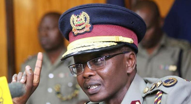 The National Police Service through the Office of the Inspector General Joseph Boinett (above) has rejected a report by Haki Africa linking them to extra judicial killings.