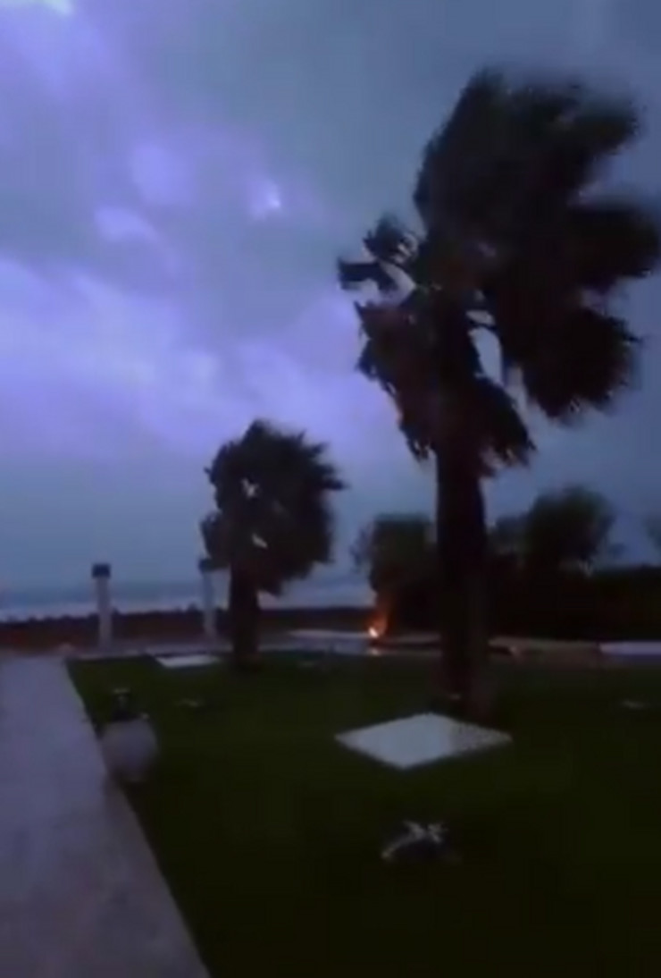 Grčka oluja Janos