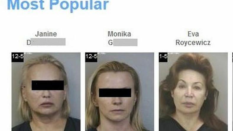 Janina D. i Monika G. w policyjnych aktach