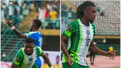 Nigeria 2 Vs 0 Liberia: Iheanacho and Iwobi receive cash gifts as Man of the Match and MVP of the Match