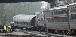Katastrofa kolejowa w Stanach. Są zabici i ponad stu rannych
