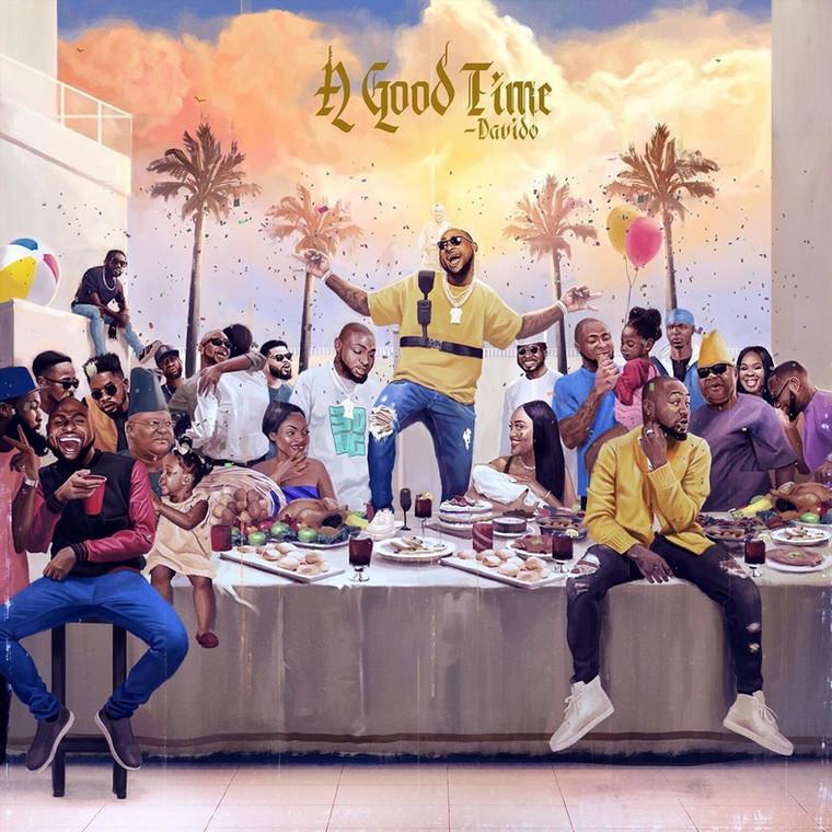 Davido releases sophomore album, 'A Good Time.' (Instagram/DavidoOfficial)