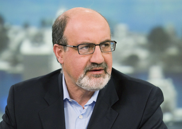Nassim Taleb, profesor New York University. Fot. Jonathan Fickies/Bloomberg