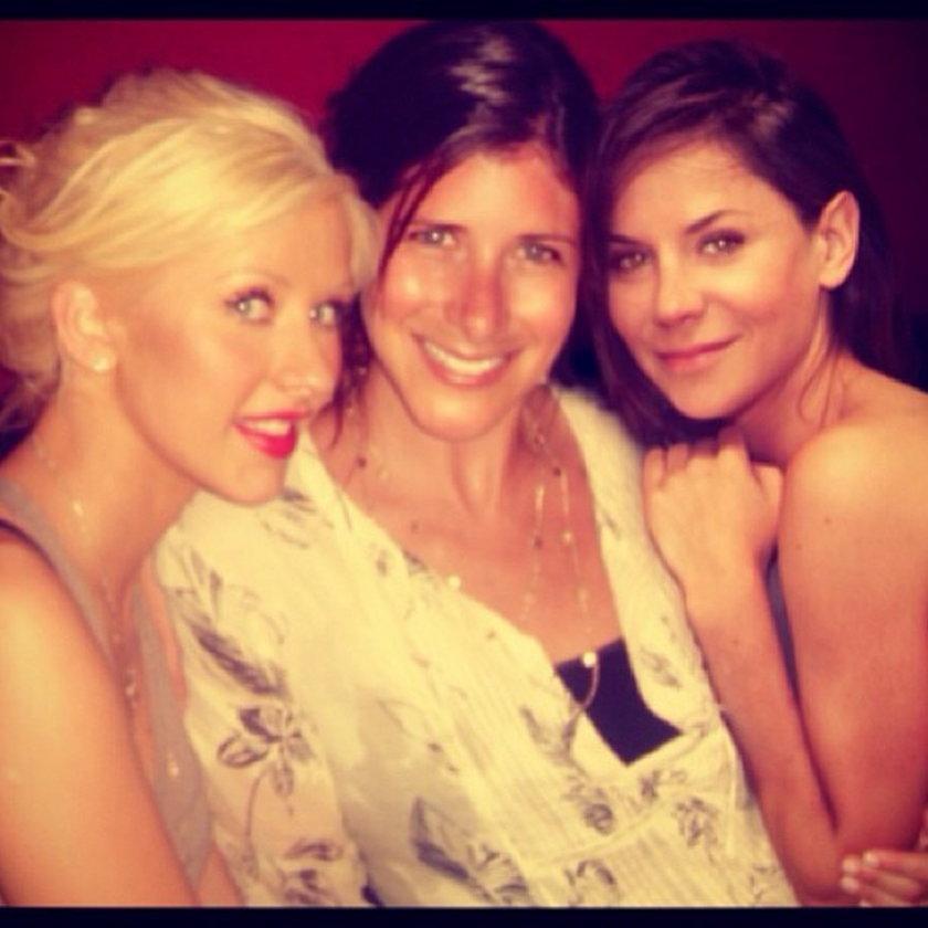Christina Aguilera i Natalia Lesz