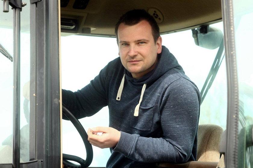 Grzegorz Bardowski z Rolnik szuka żony 2