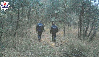 Zagubiona grzybiarka spędziła noc w lesie