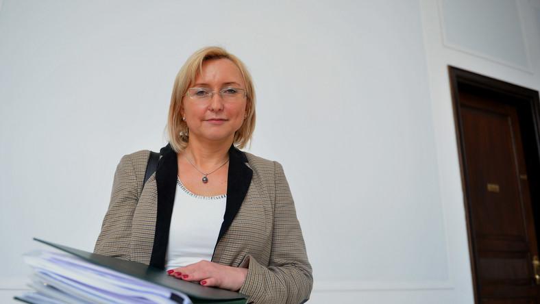 Prezes Narodowego Funduszu Zdrowia Agnieszka Pachciarz