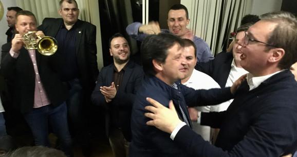 Bratisalv Gašić i Aleksandar Vučić