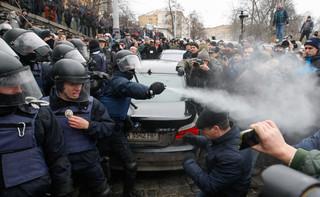 Straż Graniczna Ukrainy: Saakaszwili odesłany do Polski