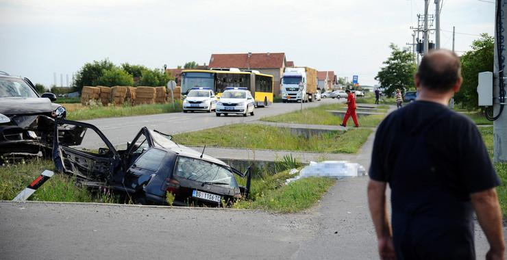 Zemun, poginula žena, Busije, saobraćajna nesreća