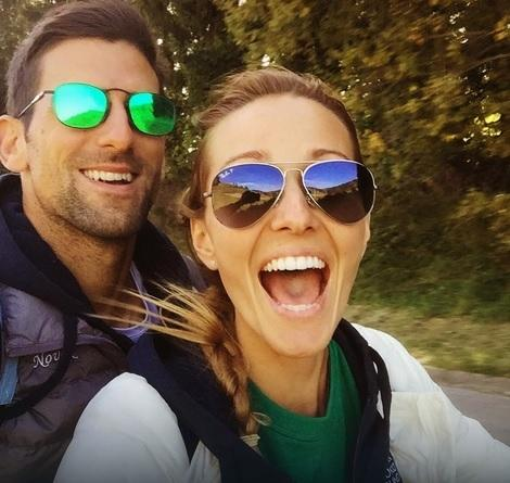 Srećni par: Novak i Jelena Đoković