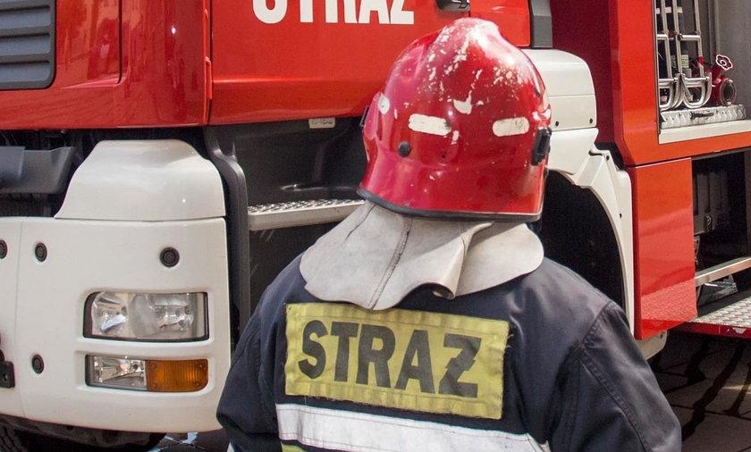 Pożar w akademiku na Lumumby w Łodzi. W pierwszy dzień Juwenaliów