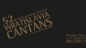 We wrześniu 52. edycja festiwalu Wratislavia Cantans