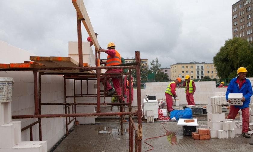 budowa osiedla komunalnego