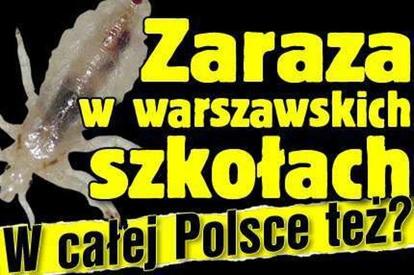 Zaraza w warszawskich szkołach. W Polsce też?