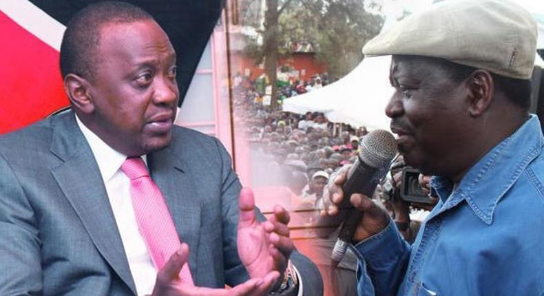 Uhuru and Raila