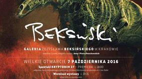 Tłumy na wystawach Beksińskiego w Nowohuckim Centrum Kultury w Krakowie