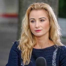 """Joanna Brodzik w """"Dzień Dobry TVN"""". Jak wam się podoba jej styl?"""