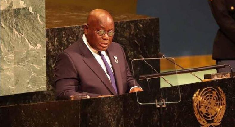 Ghana's Presdient, Nana Akuffo-Addo